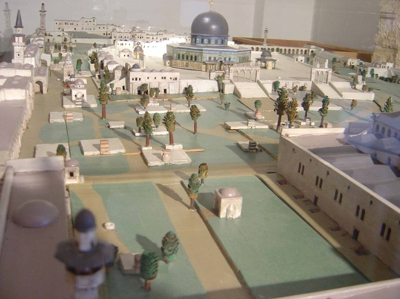 How the Temple Mount Looked like 150 years ago - according to Conrad Schick