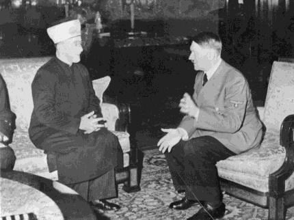 Adolph Hitler Meeting With Mufti, Amin Al Husseini